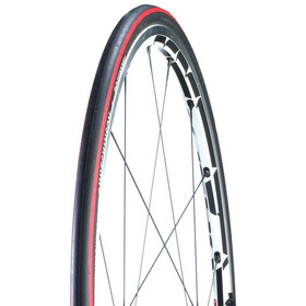 "Hutchinson Equinox 2 Folding Tyre 28"" black/red"